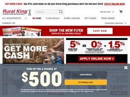 Rural King shopping
