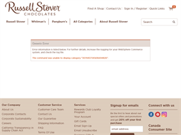 Russell Stover Candies gift card purchase