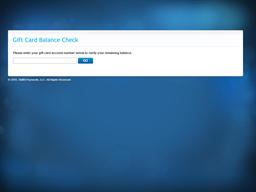 Saffron Valley gift card balance check