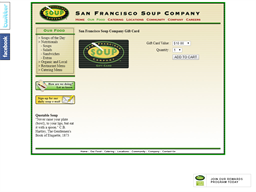 San Francisco Soup Company gift card purchase