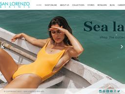 San Lorenzo Bikinis shopping