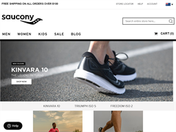 Saucony shopping