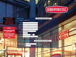 Schnippers gift card purchase