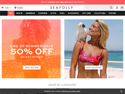 Seafolly shopping