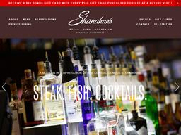 Shanahan's Steakhouse shopping