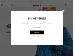 Shinola shopping