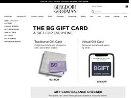 Bergdorf Goodman gift card purchase