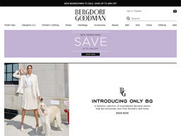 Bergdorf Goodman shopping