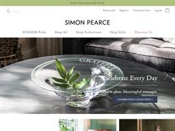 Simon Pearce shopping