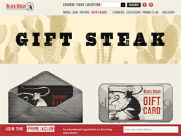 Black Angus gift card purchase