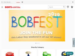 Bob's Discount Furniture shopping