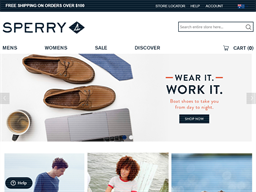 Sperry shopping