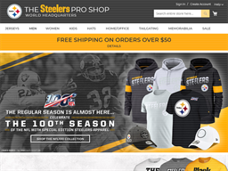 Steelers shopping