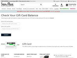 Stein Mart gift card balance check