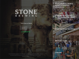 Stone Brewing Co. shopping