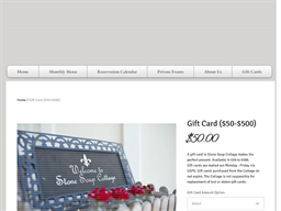 Stone Soup Cottage gift card purchase