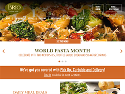 Brio Tuscan Grille shopping