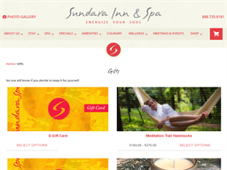 Sundara Inn & Spa gift card purchase