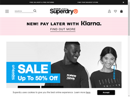 Superdry shopping