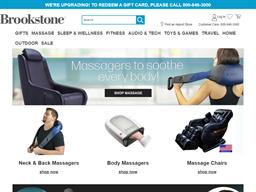 Brookstone shopping