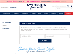 Swimsuits For All gift card balance check