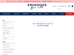 Swimsuits For All gift card purchase