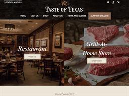 Taste of Texas shopping