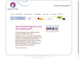 Tasti D Lite gift card purchase