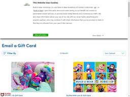 Build A Bear gift card purchase