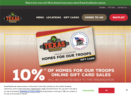 Texas Roadhouse shopping