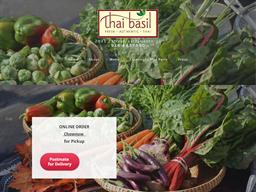 Thai Basil shopping