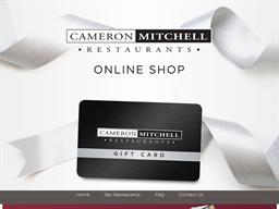 Cameron Mitchell Restaurants gift card purchase