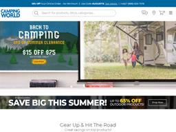 Camping World shopping