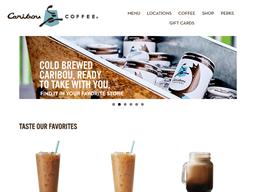 Caribou Coffee shopping