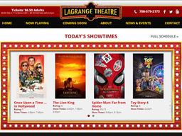 The LaGrange Theatre shopping