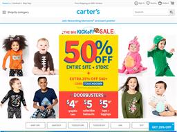 Carter's shopping
