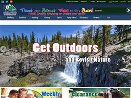 The Outdoor World shopping