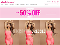 Charlotte Russe shopping