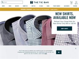 The Tie Bar shopping