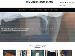 The Unbranded Brand shopping