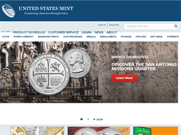 United States Mint shopping