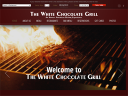 The White Chocolate Grill shopping