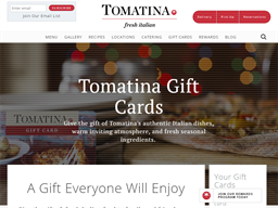 Tomatina gift card purchase
