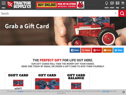 Tractor Supply Company gift card purchase