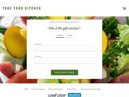 True Food Kitchen gift card purchase