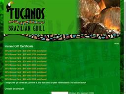 Tucanos Brazilian Grill gift card purchase