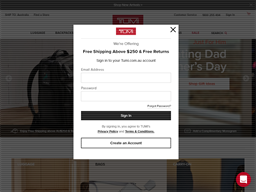Tumi gift card purchase