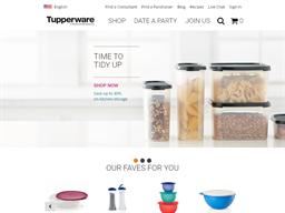 Tupperware shopping