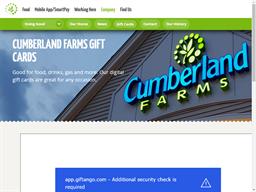 Cumberland Farms gift card balance check