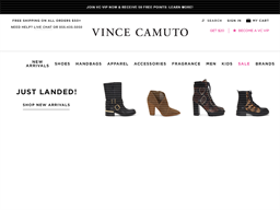Vince Camuto shopping